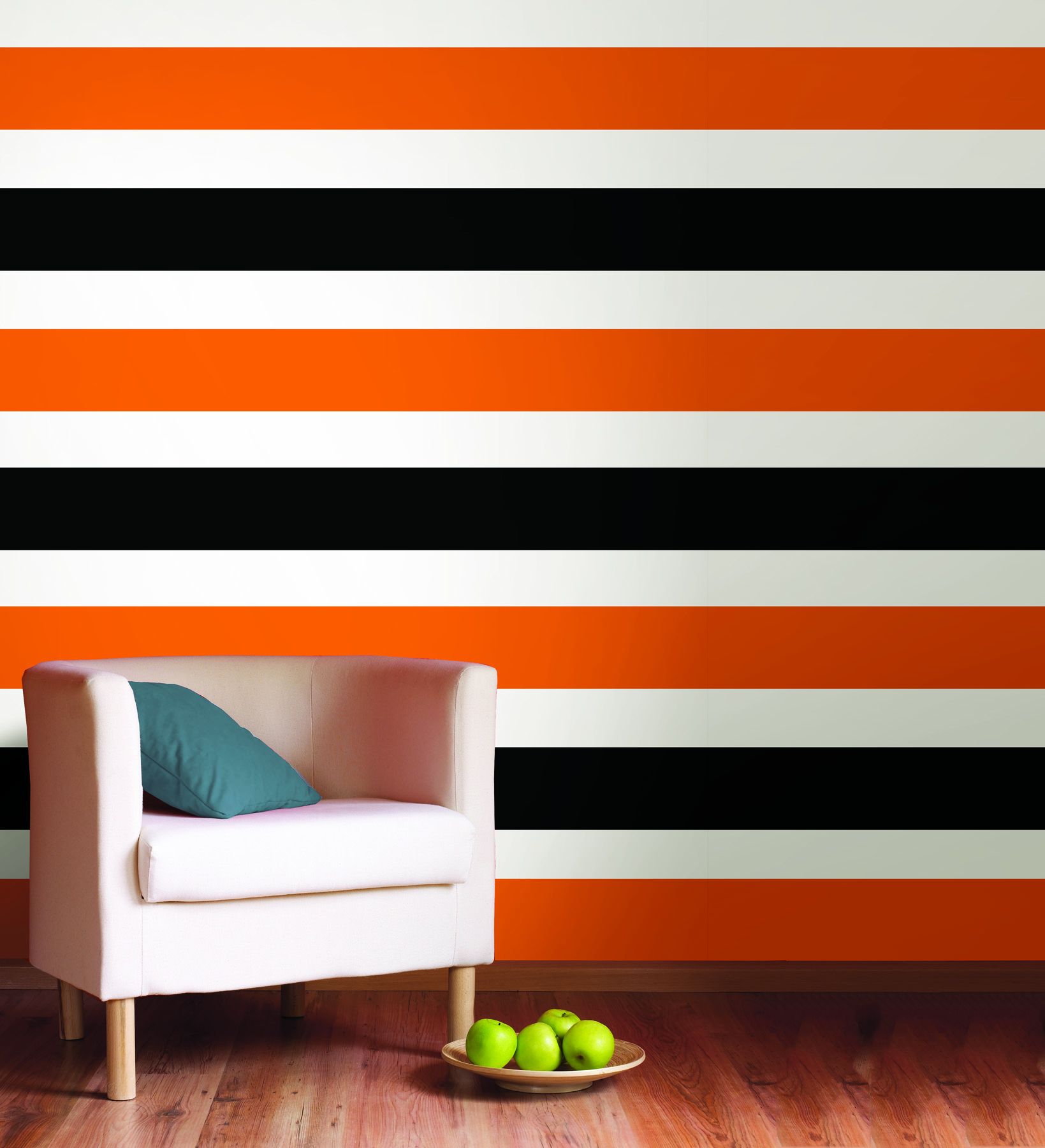 Creating a striped wall poptalk