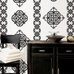 WallPops Black and White Wall Decor Idea