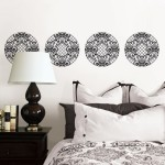 Black and White Nixon Wall Decals by Jonathan Adler for WallPops