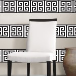 WallPops Black and White Wall Stripe by Jonathan Adler