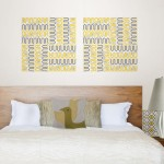 Global Chic Fashion Trend by Jonathan Adler for WallPops