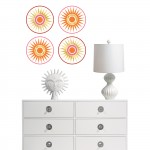 A global chic home decor trend by Jonathan Adler for WallPops