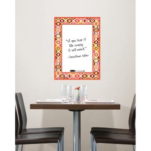Beautiful and fashionable dry-erase wall art from WallPops and Jonathan Adler