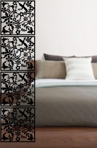Dorm Decor ideas for privacy room panels by WallPops