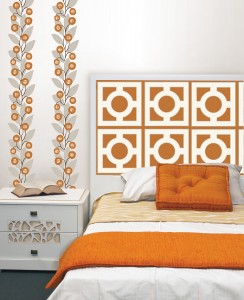 Zoe Fall Color Trends with WallPops Peel and Stick Decals