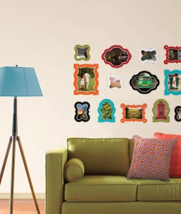 WallPops by Jonathan Adler can Make a Colorful Salon Wall