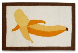 Peeled Banana Rug by Jonathan Adler