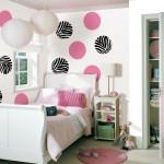 WallPops Zebra Decals in a Teen bedroom decor