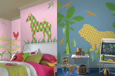 This year make kids stocking gifts special with WallPops wall art