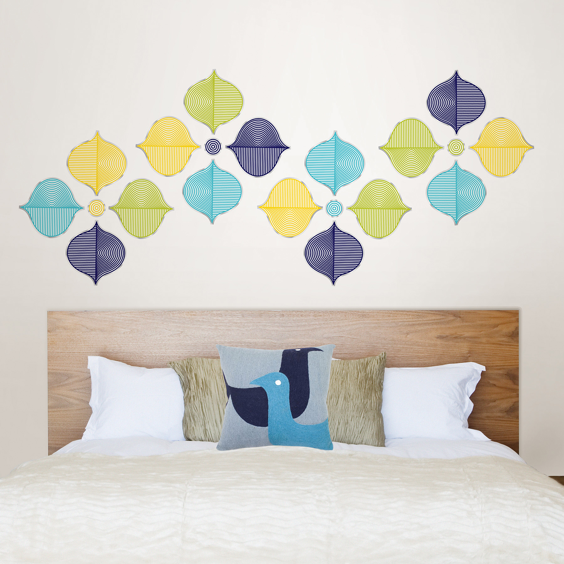 WallPops by Jonathan Adler Geometric Wall Decals