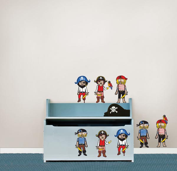 WallPops Pirate theme room idea
