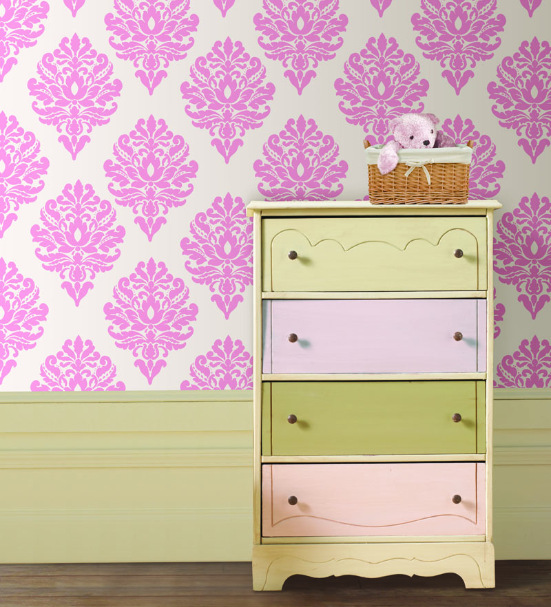 Pink Kids Wall Decals by WallPops