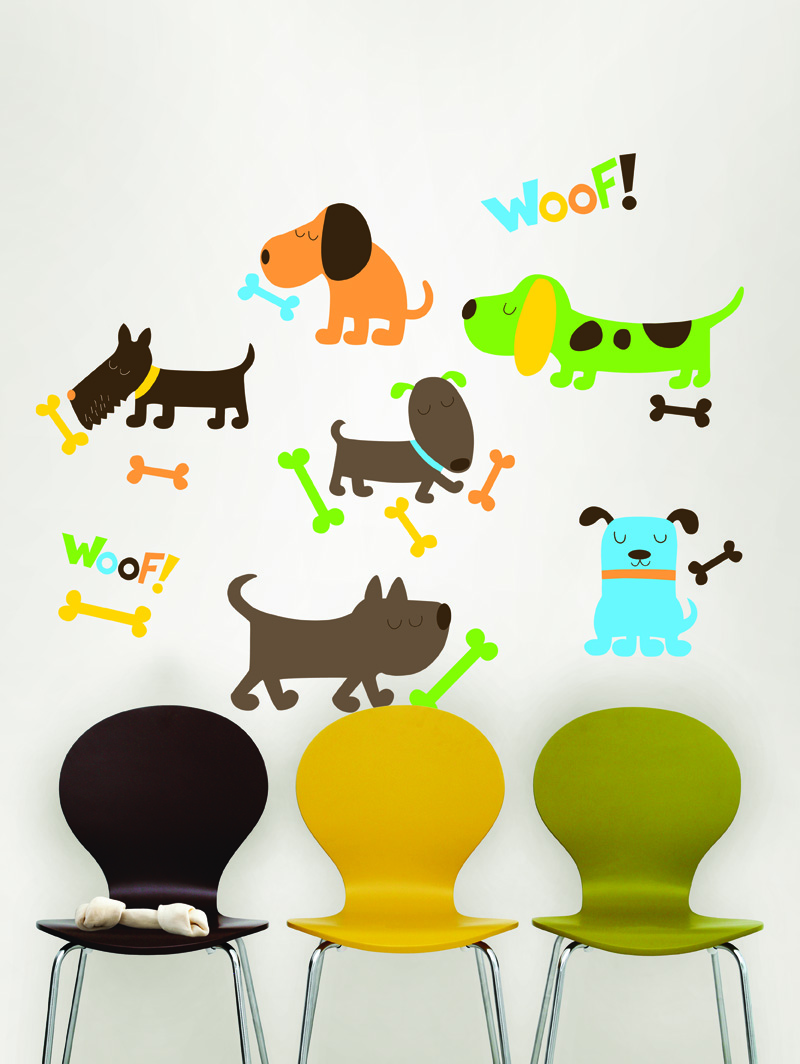 New Kids Puppy Love Decals from WallPops!