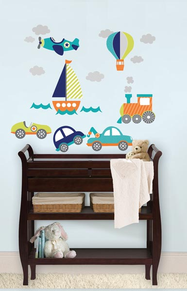 Nursery Decals by WallPops On the Go