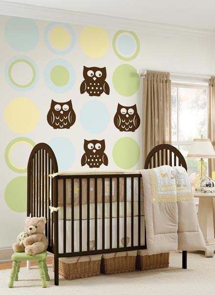 Owl Nursery Decals by WallPops