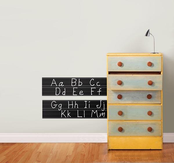 Dry-Erase Chalk Decal Idea for Classroom Decor