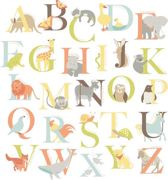 Alphabet Wall Decals Classroom Decor Idea