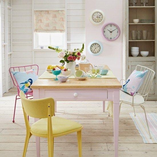 pastel color trend in home decor via Pinterest