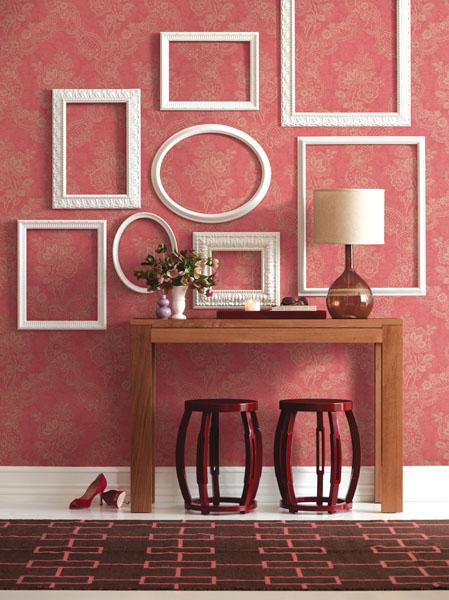 Foyer Decor Idea DIY Entryway Decor with Frames