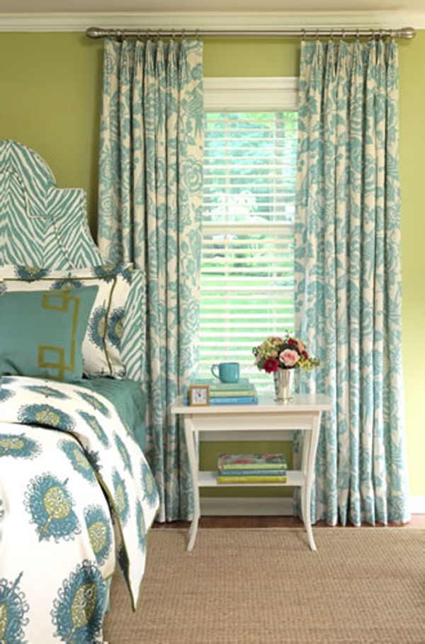 Small Space Decor Idea how to hang curtains in a small space