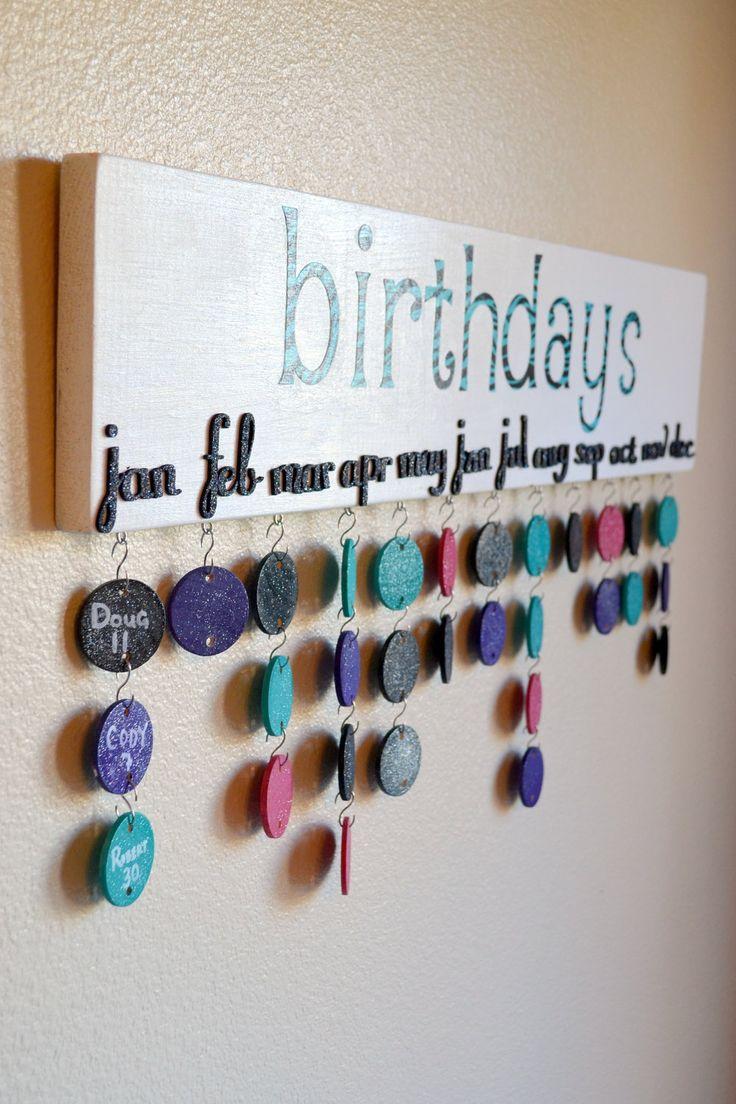 birthday organization