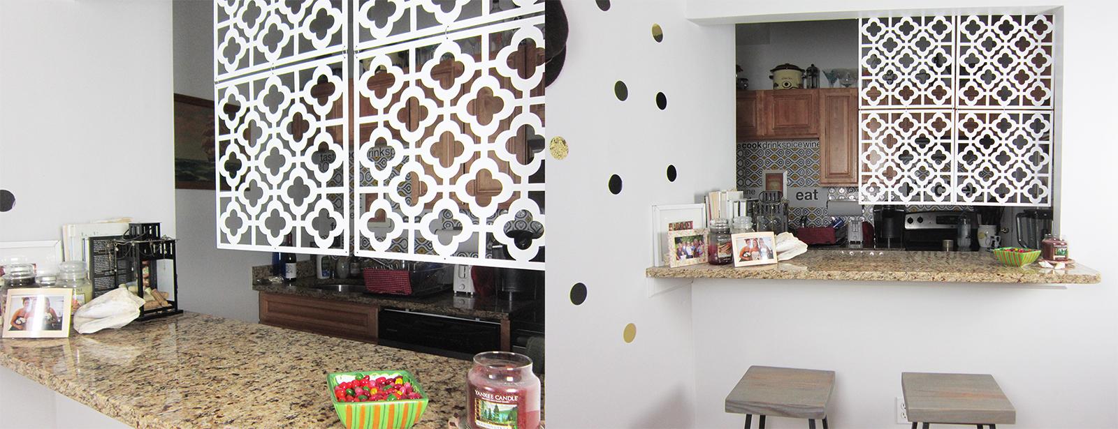 honeycomb room panels