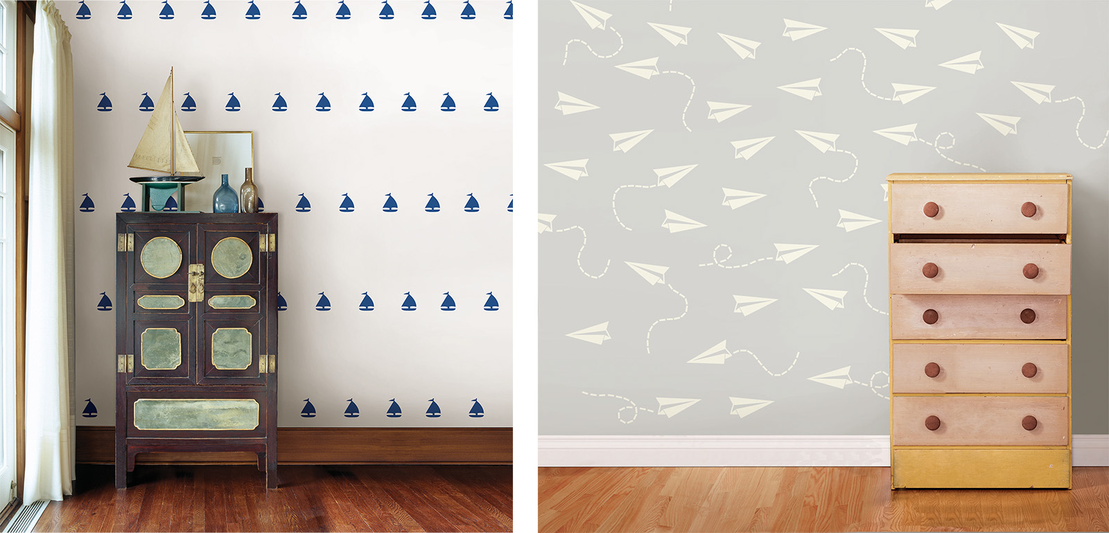 sailboat wall decals