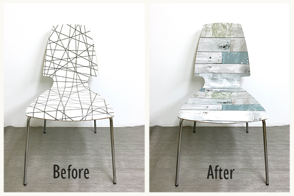 Beachwood DIY Ikea Chair Hack