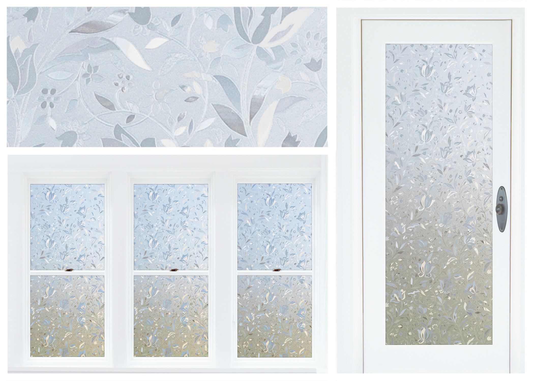 floral window film