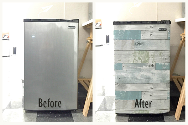 DIY Minifridge Makeover