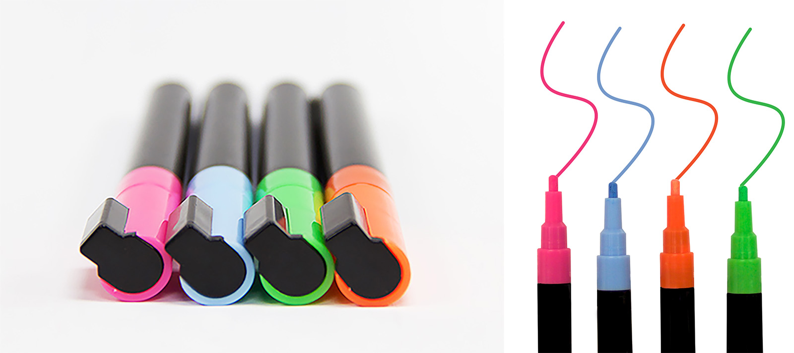colored dry erase markers