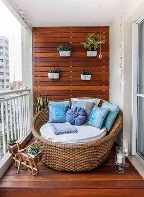 outside reading nook