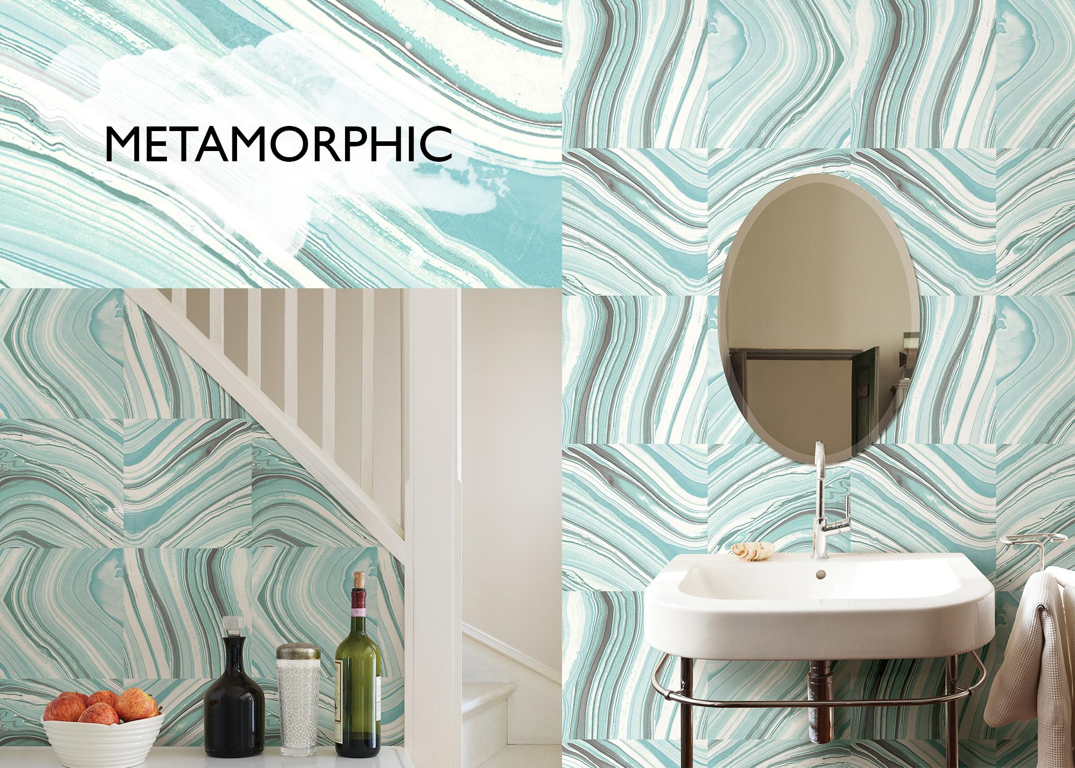 Metamorphic Agate NuWallpaper