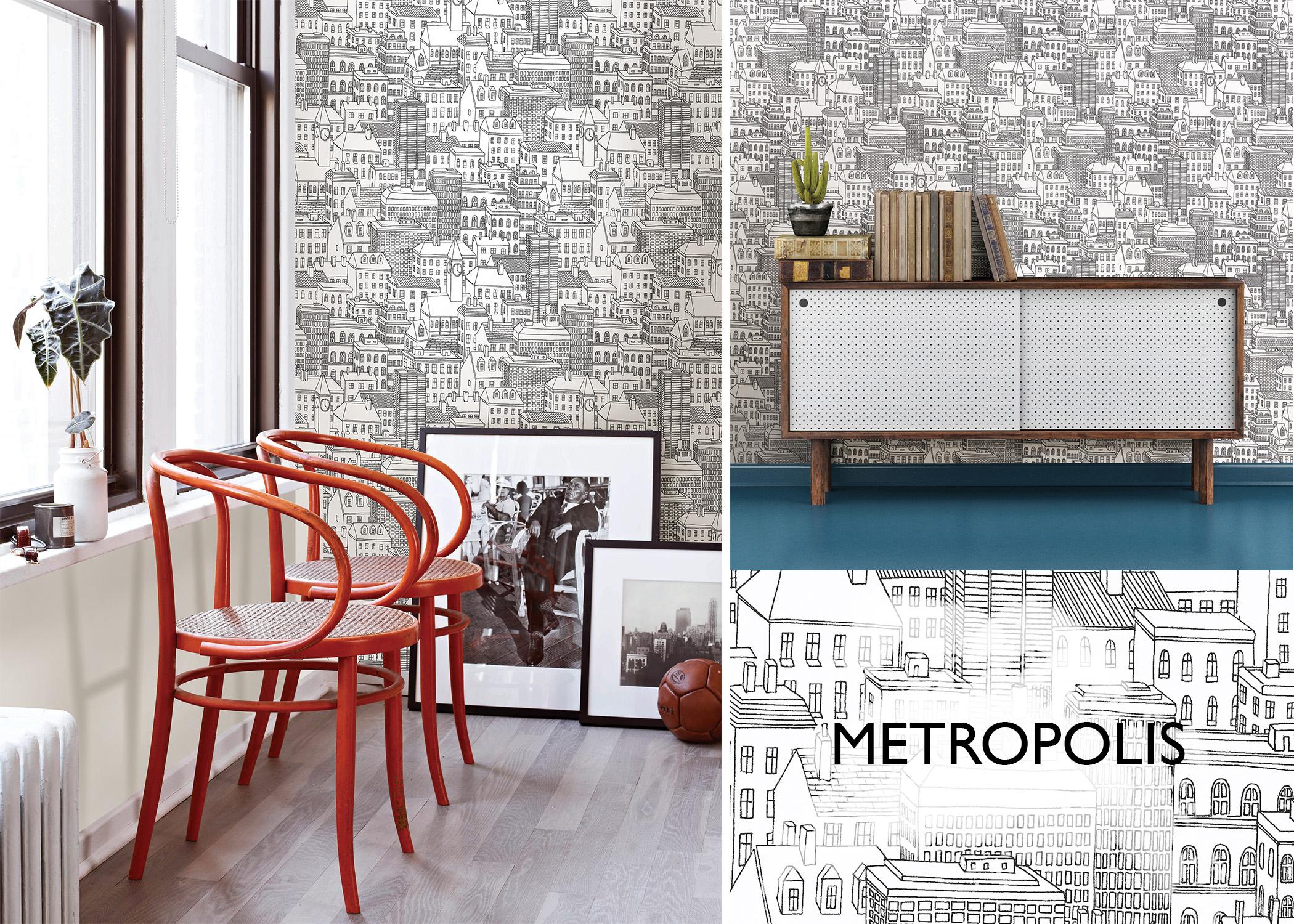Metropolis City NuWallpaper