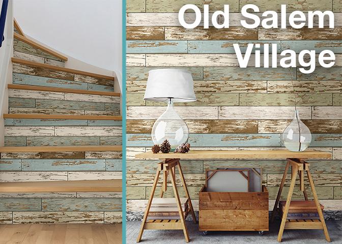 Old Salem Village NuWallpaper