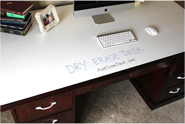 Dry Erase Desk